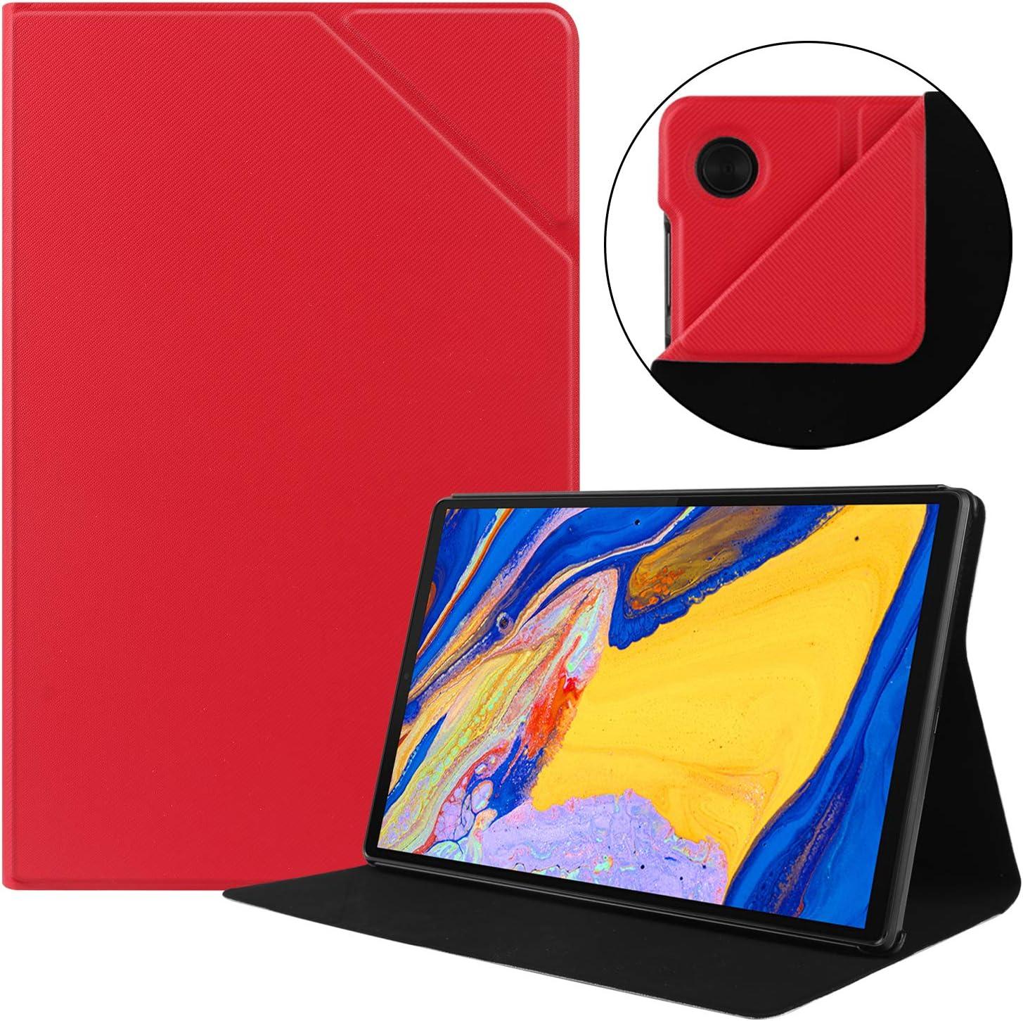 Funda KuRoKo para Lenovo Tab M10 Plus 10.3 (Rojo)