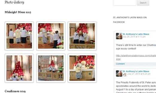 Amazon com: St  Anthony's Latin Mass: Appstore for Android
