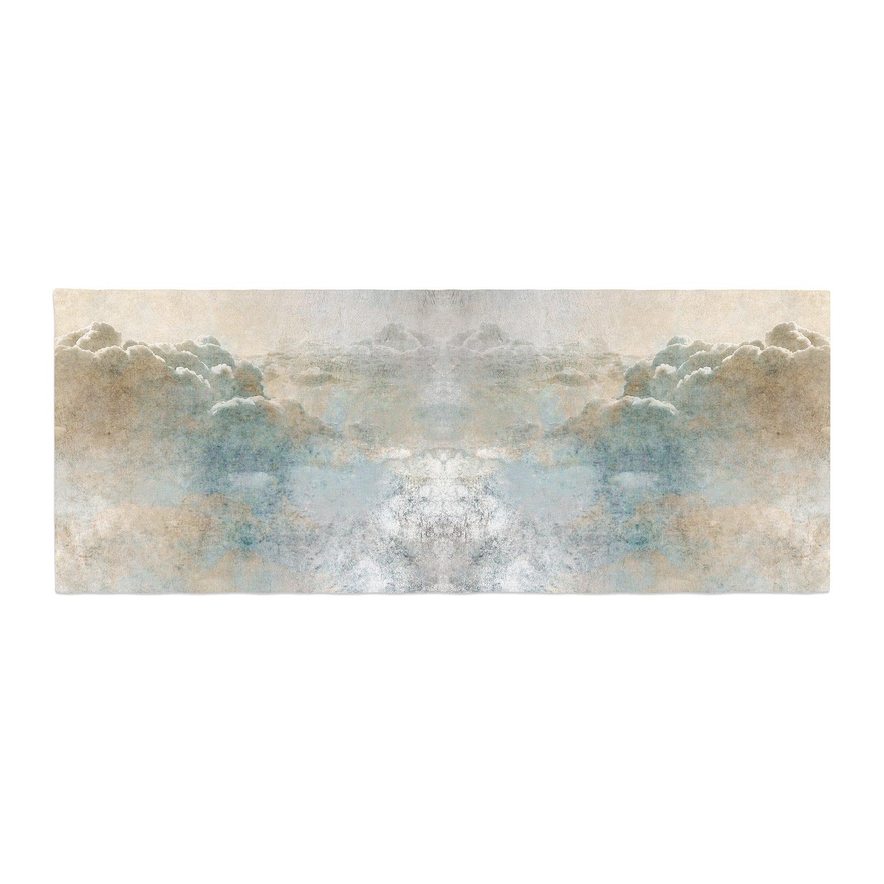 Kess InHouse Pia Heaven II Mixed Mediia Abstract Bed Runner, 34'' x 86''