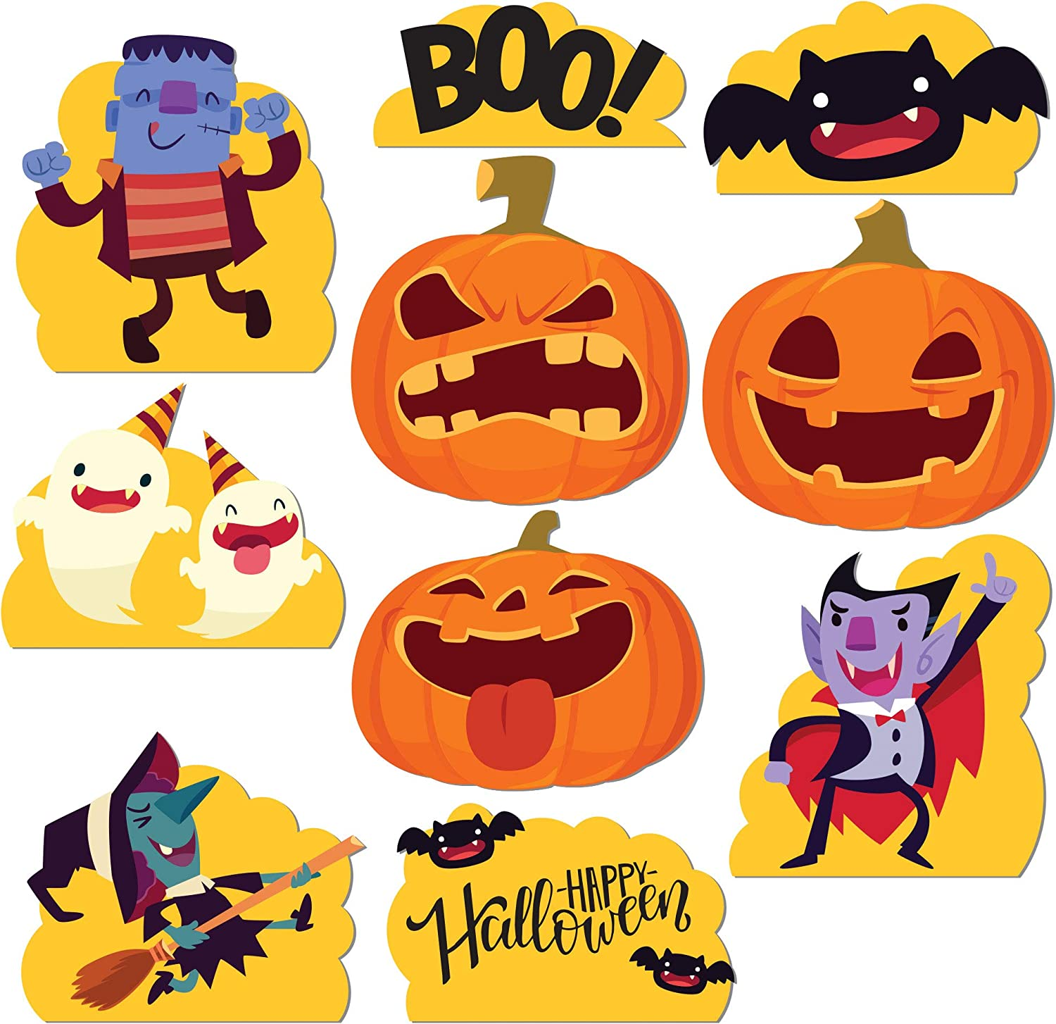 Details about  /Set of 5 Outdoor Halloween Yard Decorations