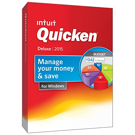 quicken deluxe personal finance budgeting software 2015