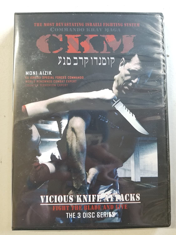 Amazon com: Commando Krav Maga: Vicious Knife Attacks 3 DVD