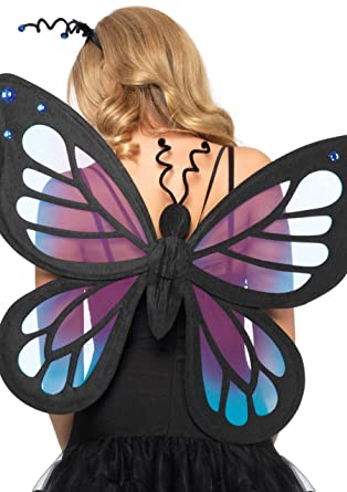 f917bbc060 Amazon.com  Leg Avenue Women s Butterfly Fairy wings Adult Costume ...