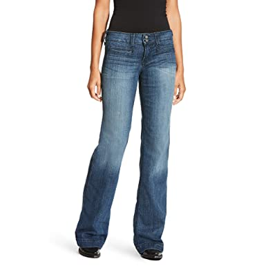 ac8bd7c2 Ariat Women's Trouser Jean at Amazon Women's Jeans store