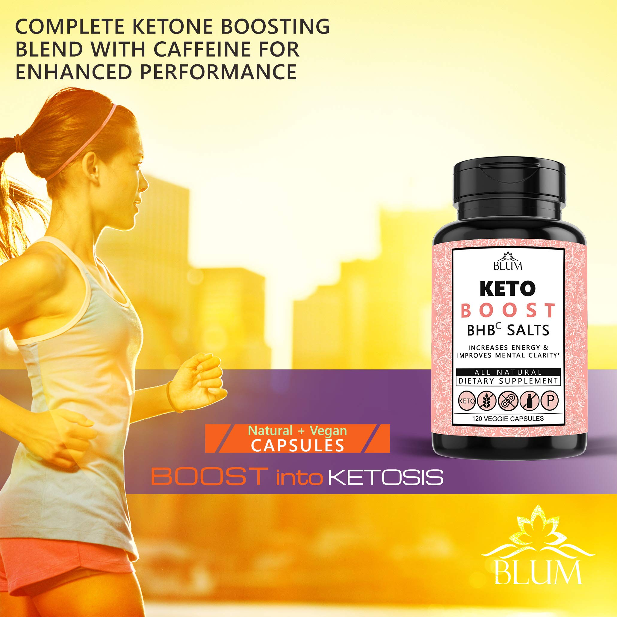 Keto Pills Weight Loss Supplements Keto Diet Pills for Ketosis | Advanced BHB Exogenous Ketones 800mg Capsules for Rapid Fat Burn, Suppress Appetite, Increase Metabolism, Energy and Mental Focus 120ct by Ovillow (Image #5)