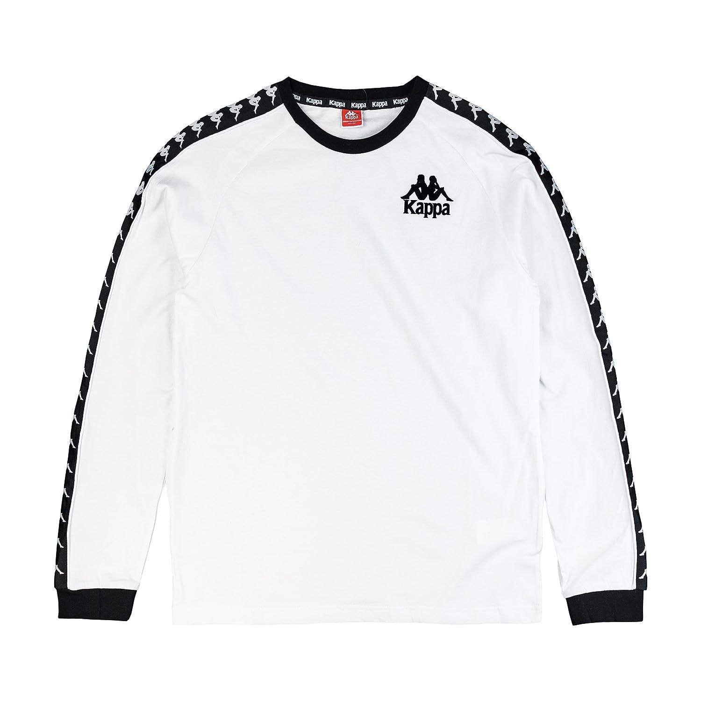 Kappa Mens Round Neck Sweatshirt Performance Tracksuit Top T Shirt Jumper