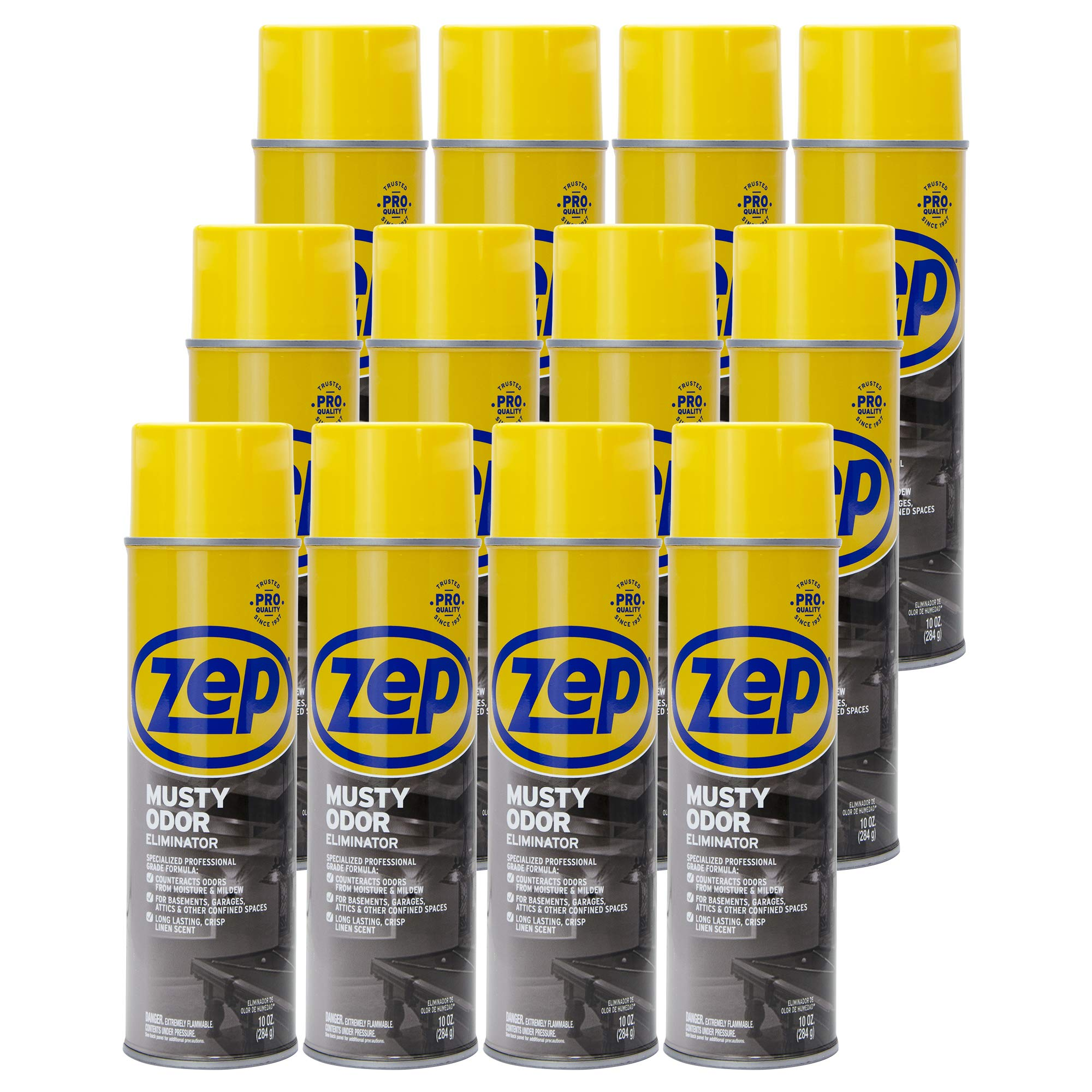 Zep Musty Odor Eliminator 10 Ounce (case of 12) by Zep