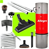 All Metal Canadian Made Allegro Central Vacuum Hybrid System