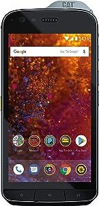 CAT Phone S61 FLIR Thermal Camera, Laser Distance Measure, Air Quality Monitor, IP69 Waterproof & Military MIL SPEC 810G Certified , 4+64GB Dual SIM Factory Unlocked 4G LTE