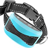 Bark Collar, Anti Barking Control Device Train Your Pet: Beep Vibration Optional Yes/No Shock, 7 Sensitivity Levels Anti-Bark Training for Large Medium & Small Dog Rechargeable Rainproof 2018 chip