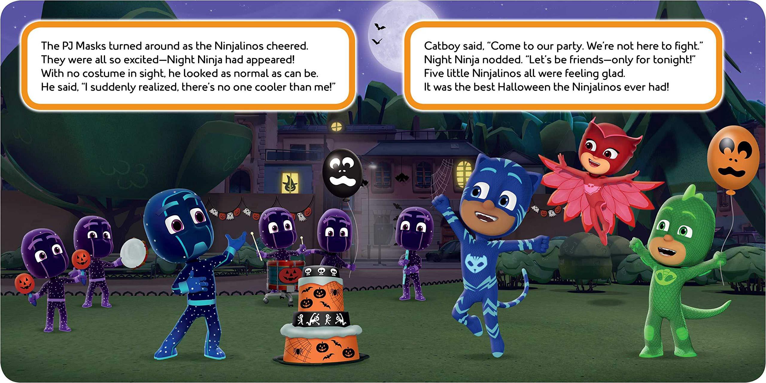 Five Little Ninjalinos: A Halloween Story (Pj Masks) : Gallo ...