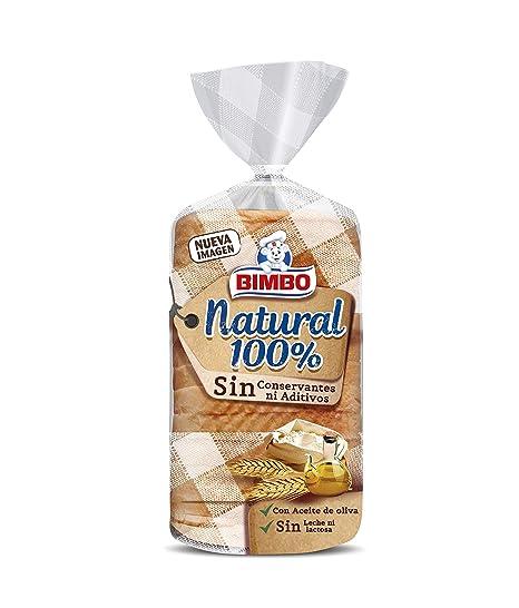 Bimbo Natural 100% Pan blanco con corteza - 460 gr