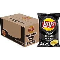Lay's Chips Heinz Tomato Ketchup, Doos 15 stuks x 225 g