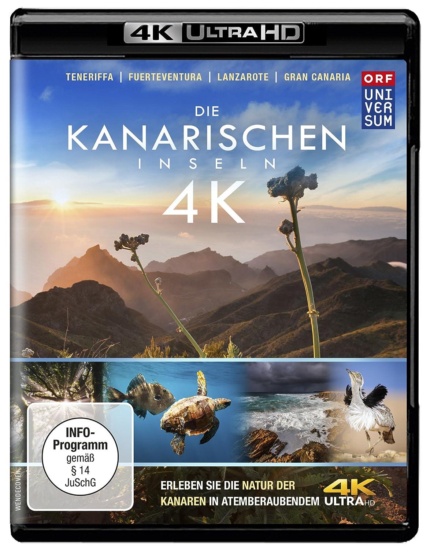 Die Kanarischen Inseln (4K Ultra HD) Teneriffa l Gran Canaria l Lanzarote l Fuerteventura l La Gomera l La Palma l El Hierro [Alemania] [Blu-ray]