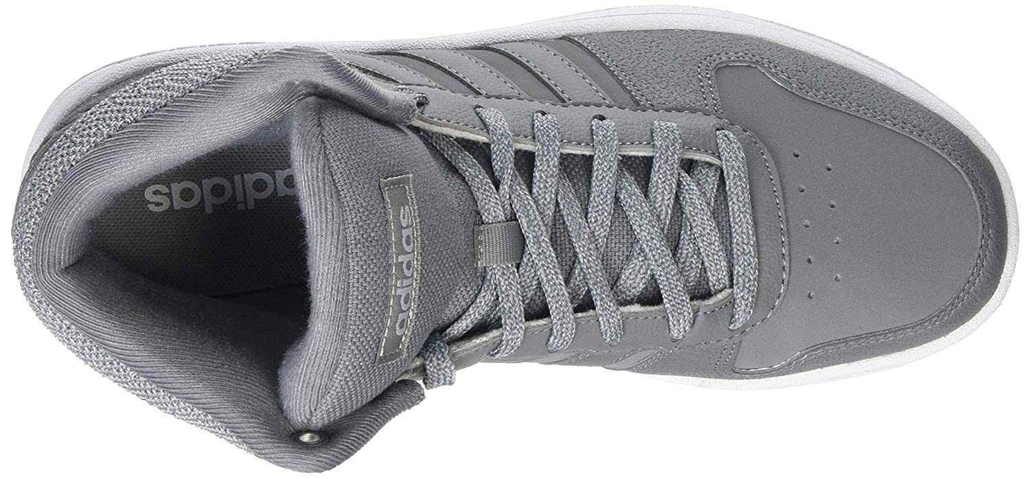 pretty nice 4f289 acc94 adidas Hoops 2.0 Mid, Chaussures de Gymnastique Femme, Gris (Grey F17Grey  Three F17Ftwr White), 36 23 EU Amazon.fr Chaussures et Sacs