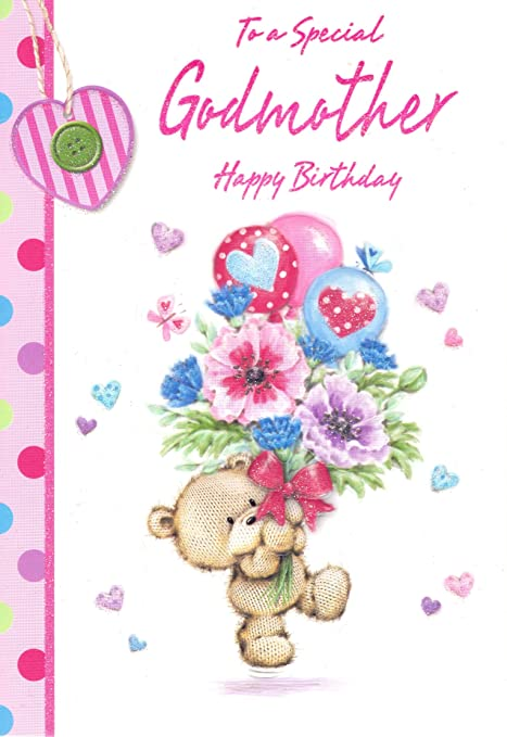 To A Special Godmother Happy Birthday