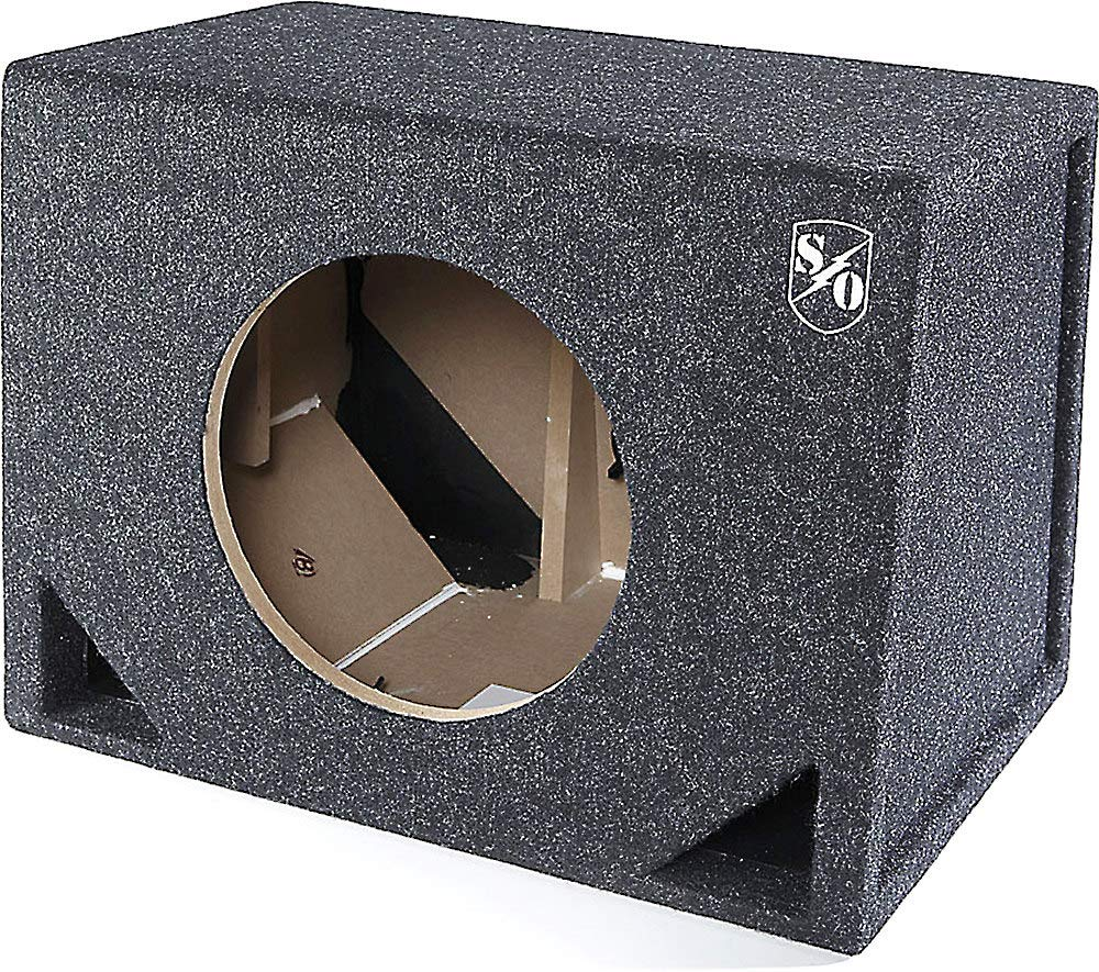Sound Ordnance BB10-125V Single 10'' Vented Box 1.5 cu ft