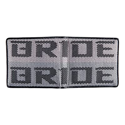 Kei Project Bride Racing Wallet Seat Fabric Leather Bi-fold Gradation (Bride-Gradation): Automotive