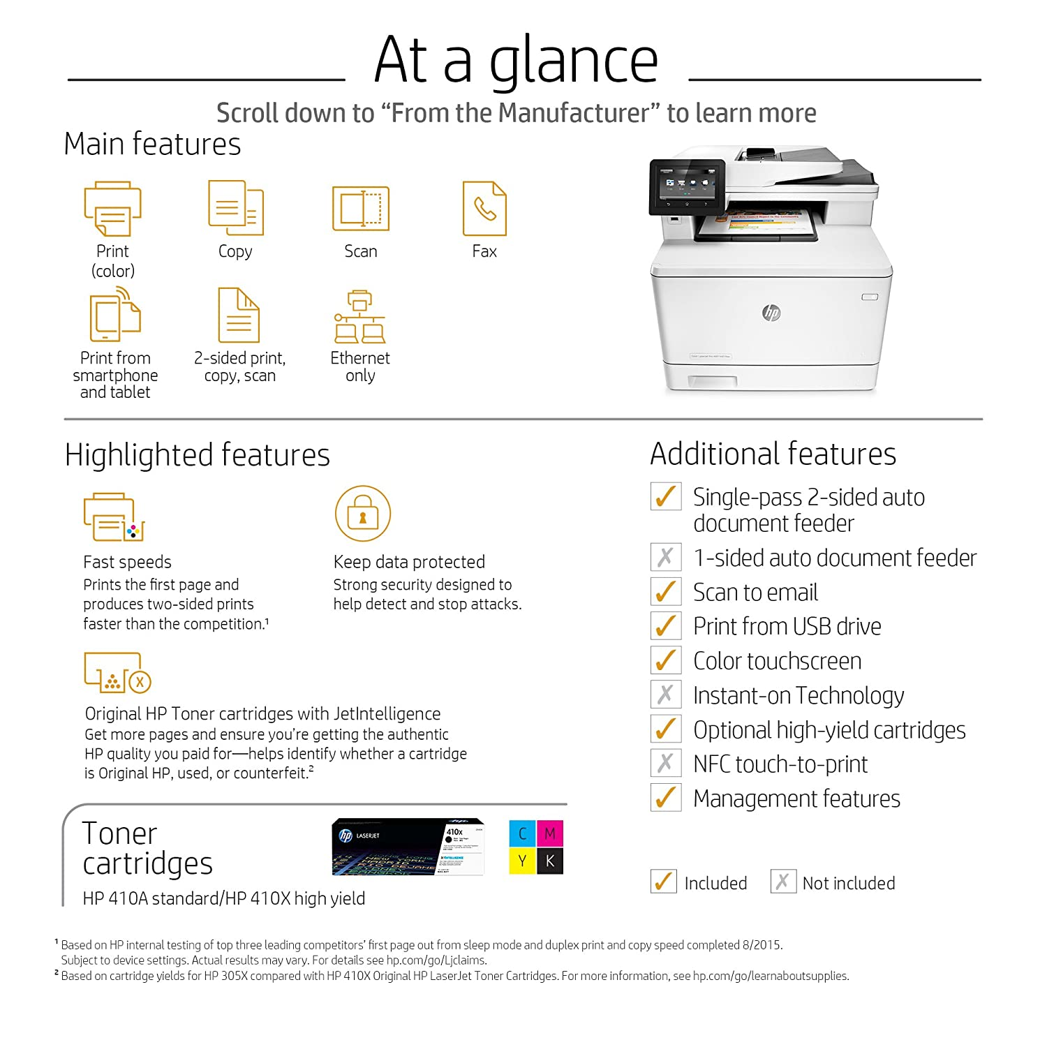 Print Color Copies Dessincoloriage Hp Laserjet Pro M477fdn All In One Colour Printer Cf378a