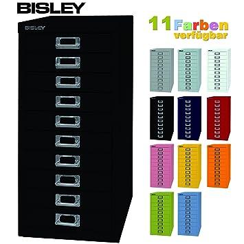 BISLEY Schubladenschrank 29 aus Metall mit 10 Schubladen | Schrank ...