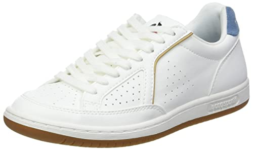 f33b57b8f19a Amazon.com  Le Coq Sportif Women s Icons Sport Optical White Blue Shadow  Trainers  Shoes