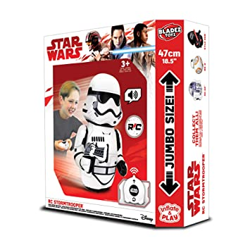 Star Wars BTSW001-SRC Stormtrooper Inflable: Amazon.es: Juguetes y ...
