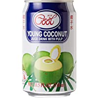 Ice Cool Young Coconut Juice wt Pulp, 310ml, Pack of 24