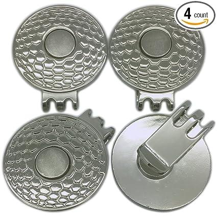 Amazon.com   Okallo Products Magnetic Golf Ball Marker Hat Clip 4 ... bf60e5ddc094
