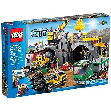 Lego City 4204 The Mine Amazon Toys Games