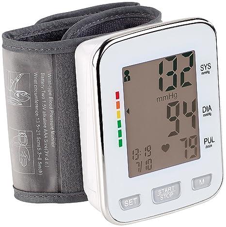 Newgen Medicals – Tensiómetro: Med. Tensiómetro de muñeca, XL de pantalla, 2