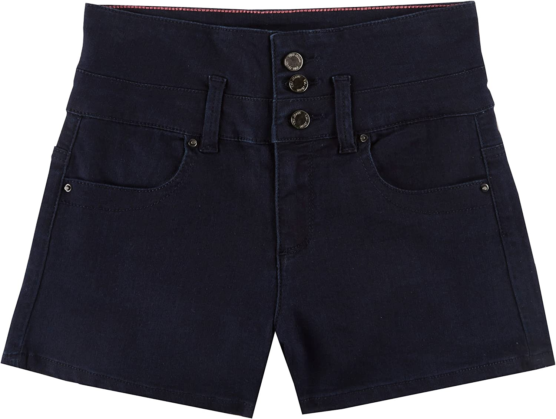 YMI Juniors Triple Button Highwaist Short