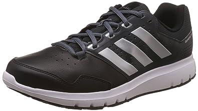 adidas Duramo Trainer, Herren Hallenschuhe, Schwarz (Dark Grey/Silver  Metallic/Core