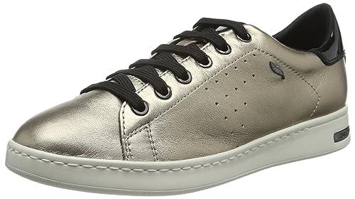 Geox D Jaysen a, Zapatillas para Mujer, Gold (CHAMPAGNECB500), 39 EU