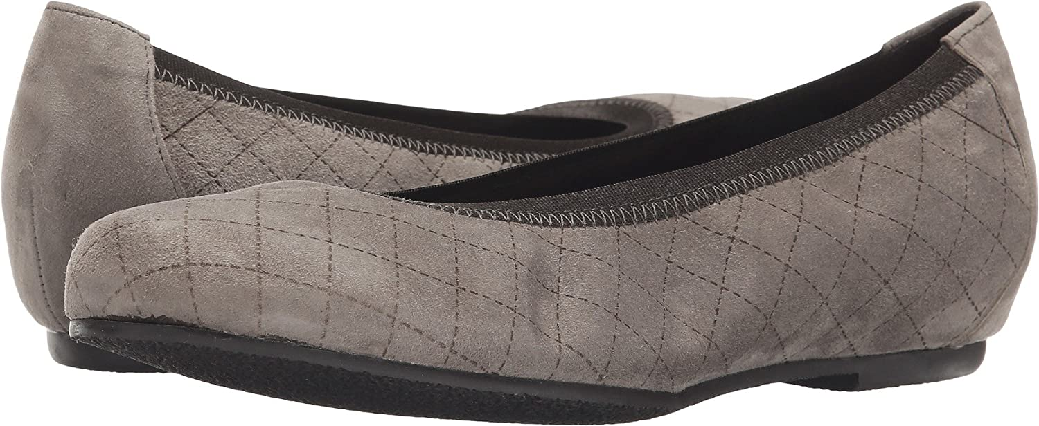 Munro Womens Vicki B00TG1JJOW 6.5 AA US|Etched Taupe Suede