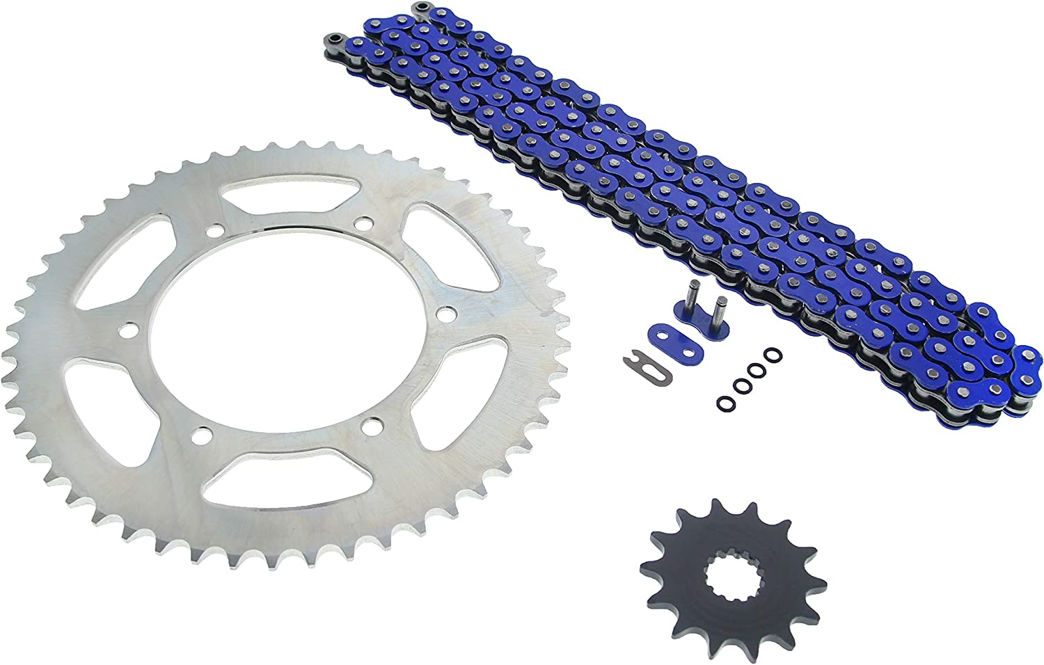 Fits Honda XR400R 400 R Gold O Ring Chain and Sprocket 15//45 108L