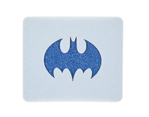 Batman Symbol Face Painting Stencil 7cm X 6cm 190micron Washable