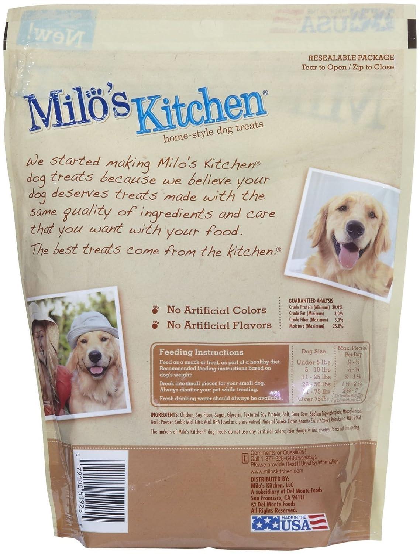 Amazon.com : Milo\'s Kitchen Home Style Dog Treats, 18 oz - Other ...