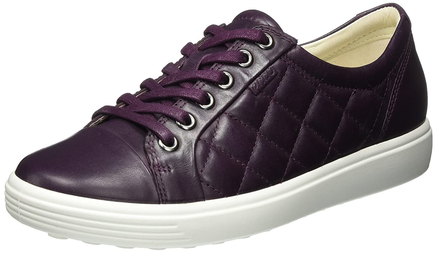 Ecco Damen Soft 7 Ladies Turnschuhe lilat (Mauve) 38 EU