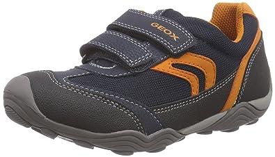 83a91fd05 Geox Arno B, Boys' Trainers, Blue (Navy/Orange), 7 UK: Amazon.co.uk ...