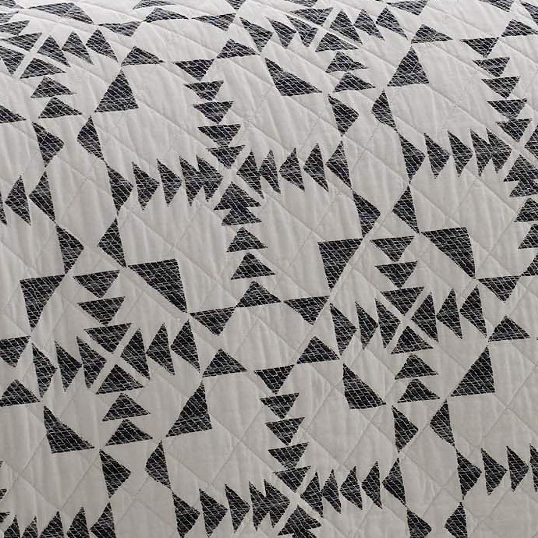 Eddie Bauer Arrowhead Quilt Set Twin Charcoal
