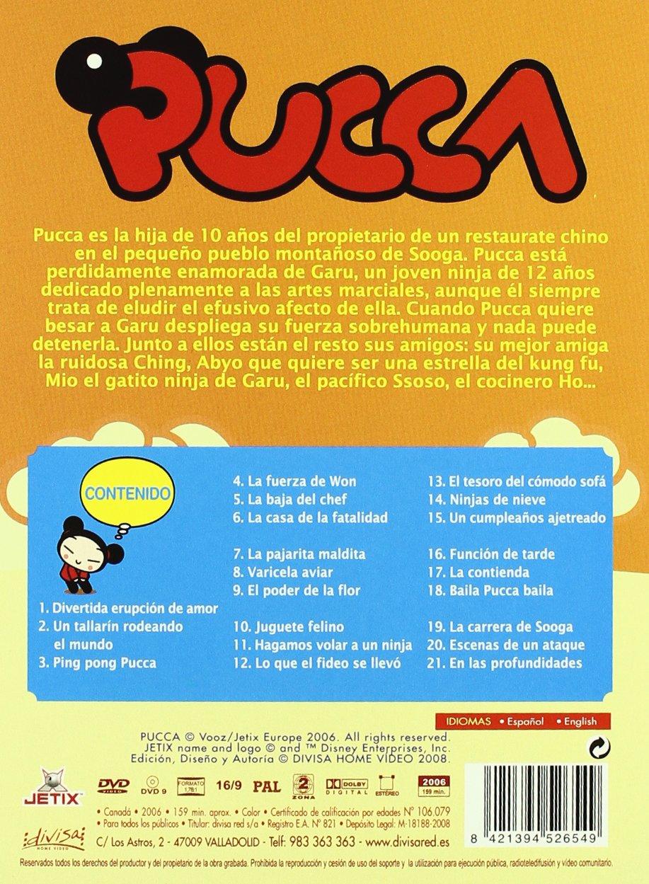 Amazon.com: Pack Pucca Vol. 1 [Import espagnol]: Movies & TV