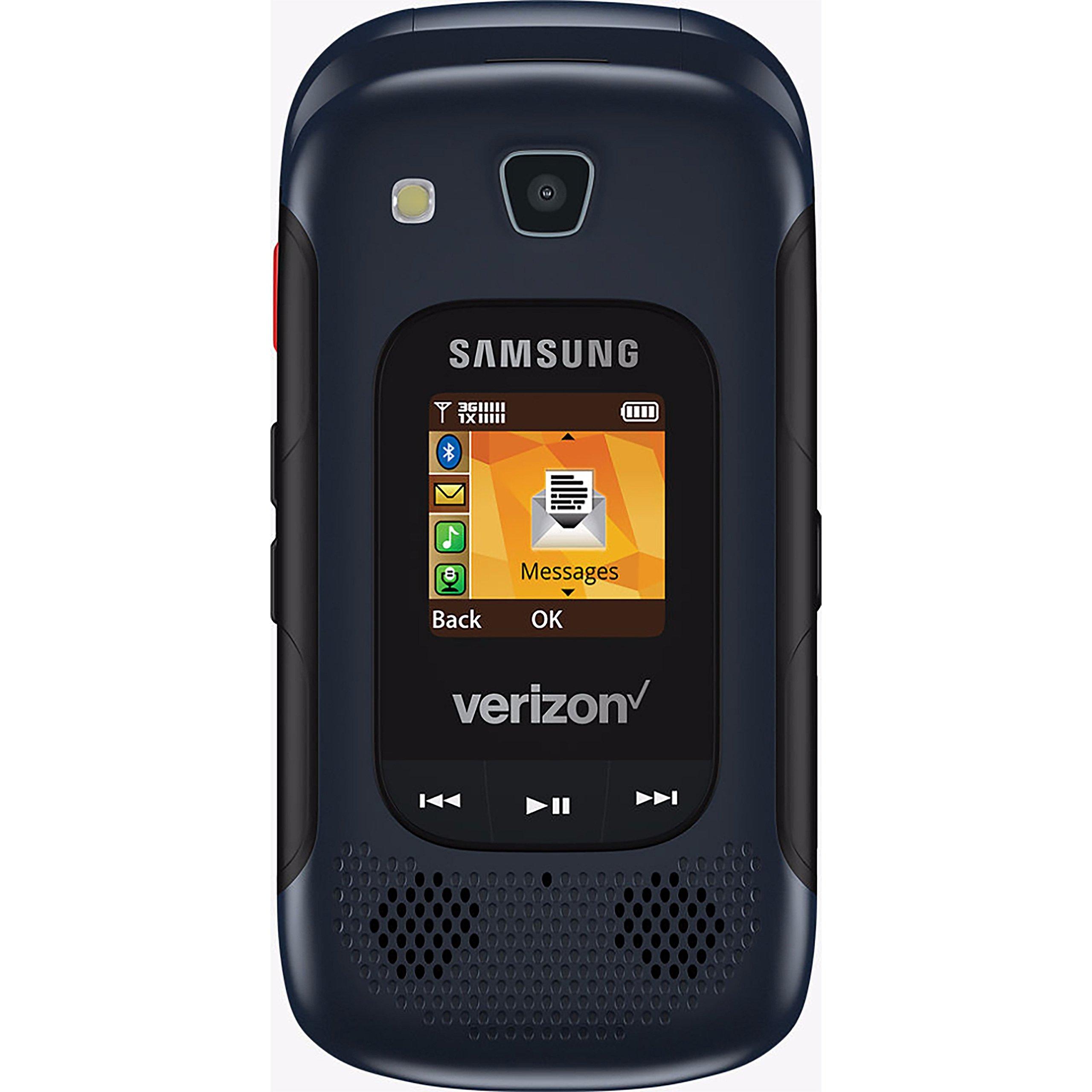 Samsung Convoy 4 B690 Rugged Water-Resistant Verizon Flip Phone w/ 5MP Camera - Blue