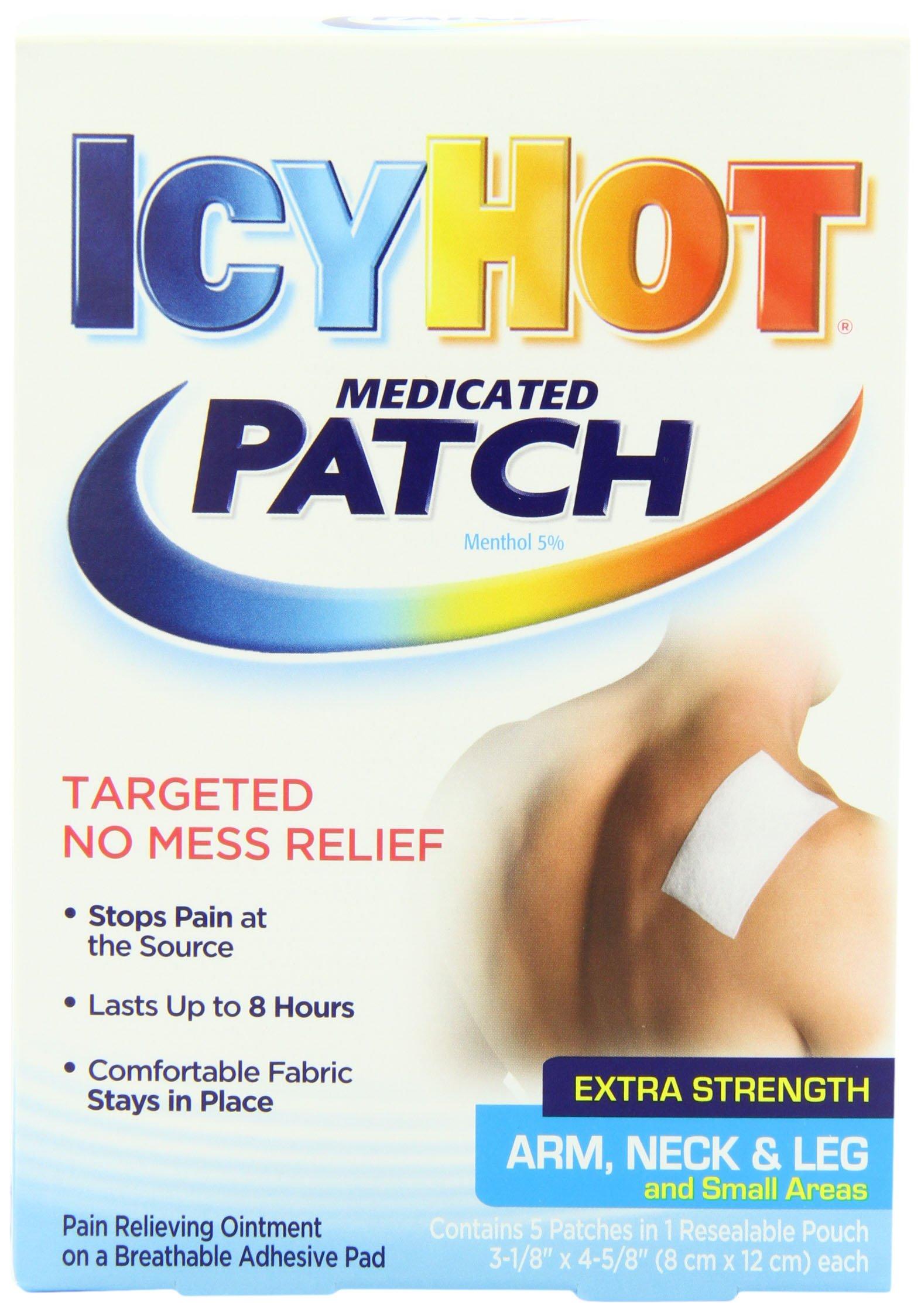 Amazon Icy Hot Maximum Strength Medicated Sleeve Large 3