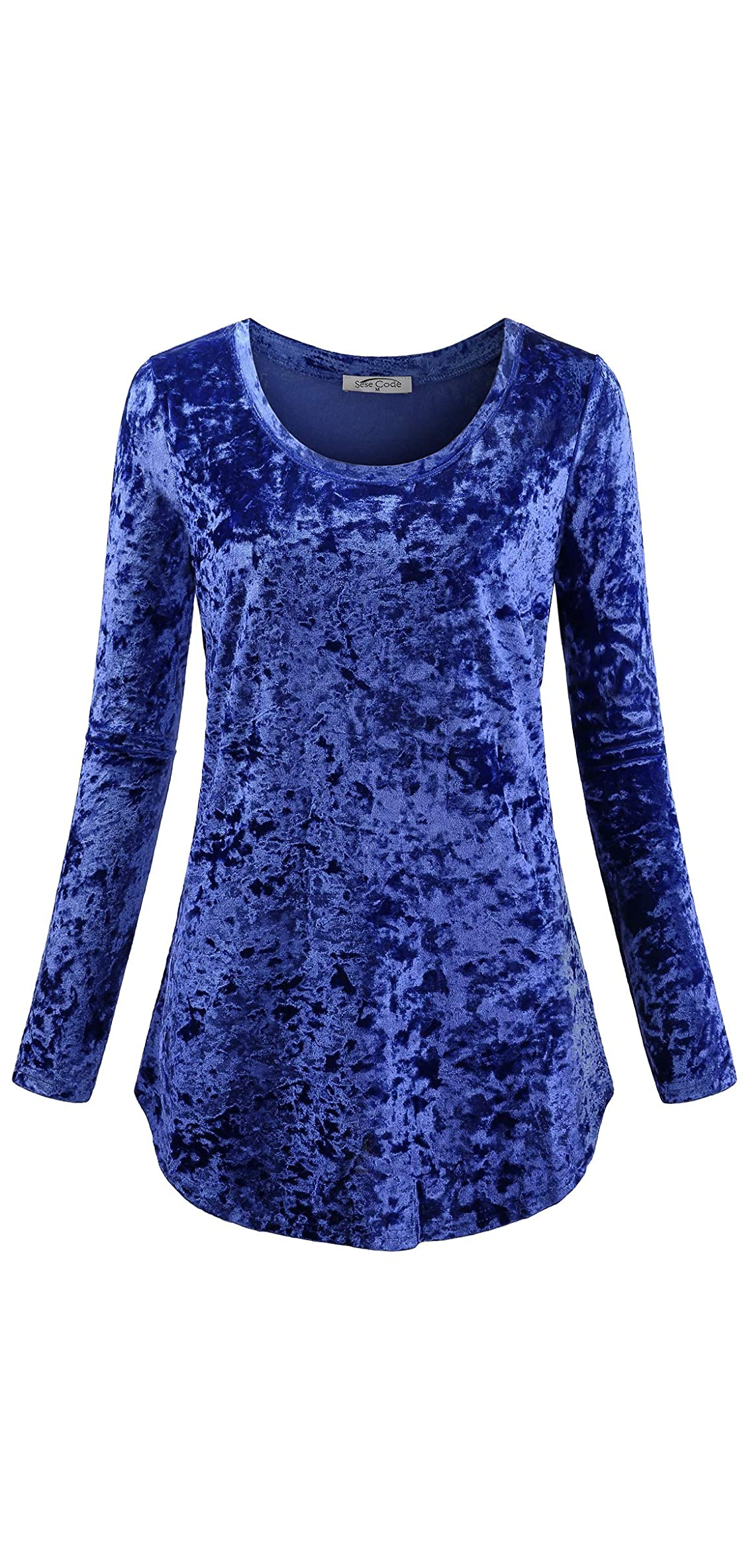 Women's Casual Long Sleeve Crew Neck Form Fitting