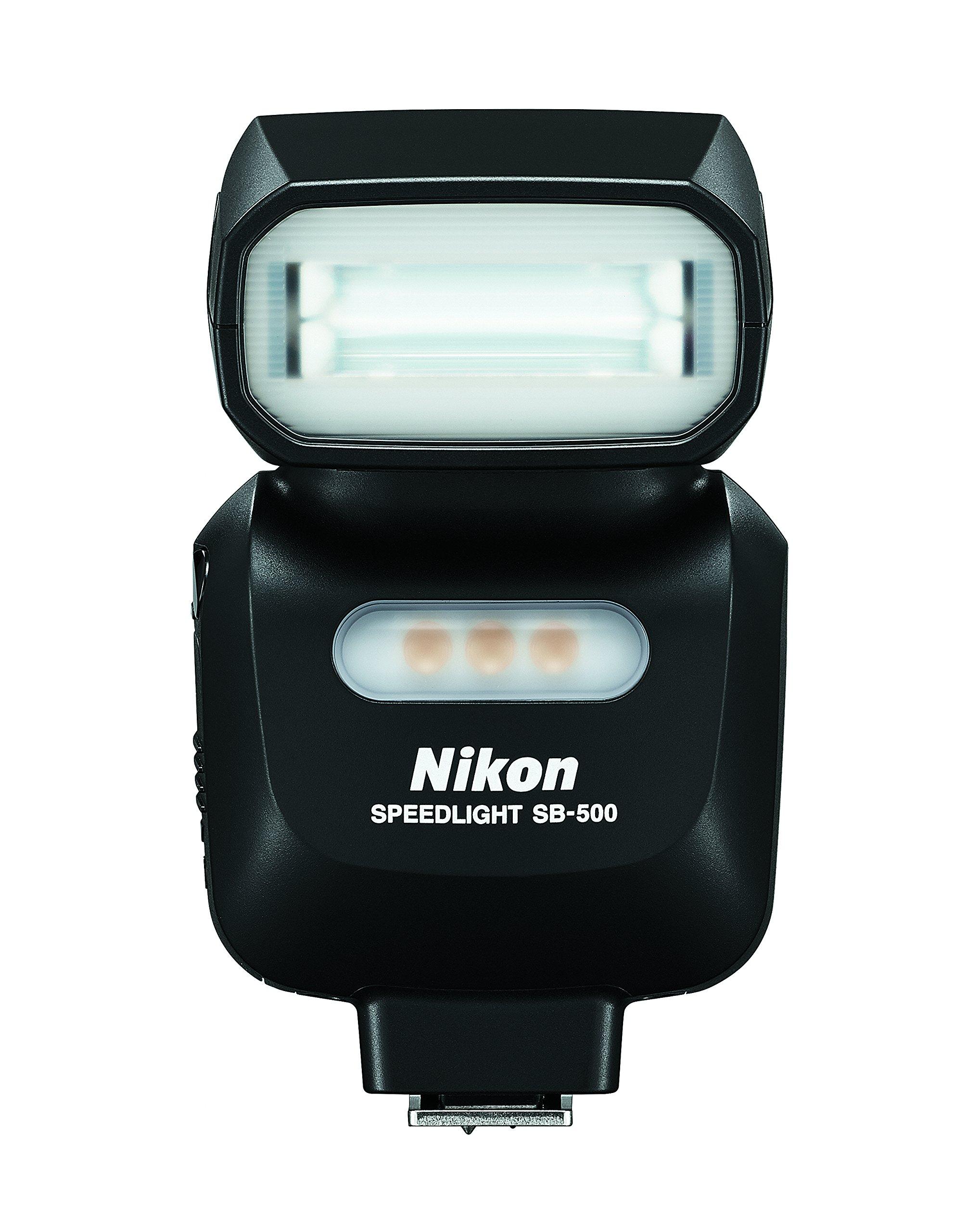 Nikon 4814 SB-500 AF Speedlight (Black) by Nikon
