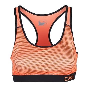 CMP Sujetador Deportivo para Parte Superior sporttop Naranja Costura dryfu multifunción de 4 Way Stretch 3 C82876, Naranja: Amazon.es: Deportes y aire libre