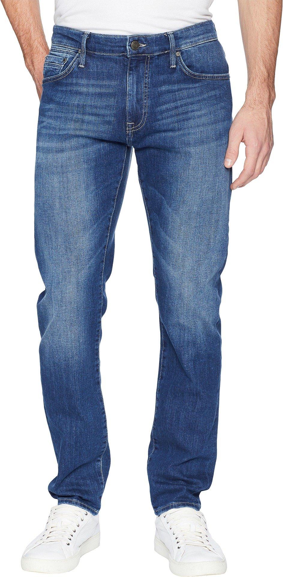 Mavi Men's Marcus Slim Straight Leg Jeans, Mid Brushed Summer 36W X 32L