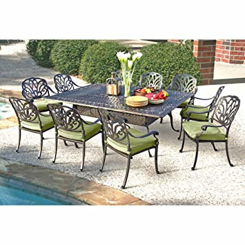 Superb Veranda Classics San Marino 11 Piece Patio Furniture Dining Set