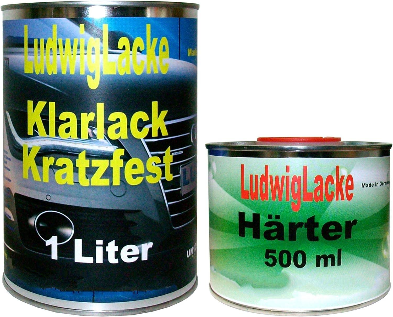 1 5 Liter Ms Klarlack Set Klarlack Und Härter Für Autolack Und Effektlack Auto