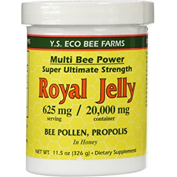 Amazon.com: Royal Jelly And Bee Pollen Capsules With Bee